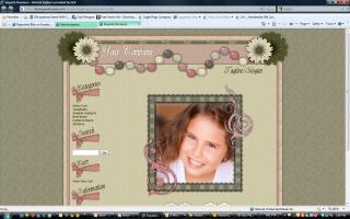 Exquiste Romance Website Template