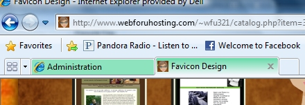 Favicon Design