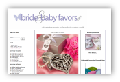 Bride and Baby Favors