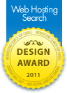 Web Hosting Search Web Design Award